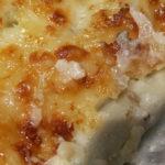 Canelons de bolets i formatge de cabra