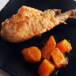 Pollastre amb carbassa i canyella