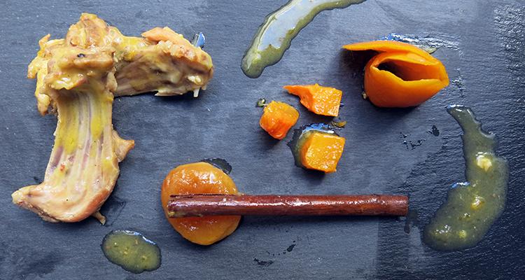 Conill (a la) taronja