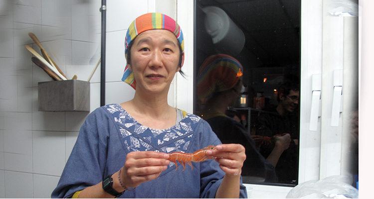 Kakiague i Ebi no tempura