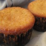 Muffins de coco i préssec