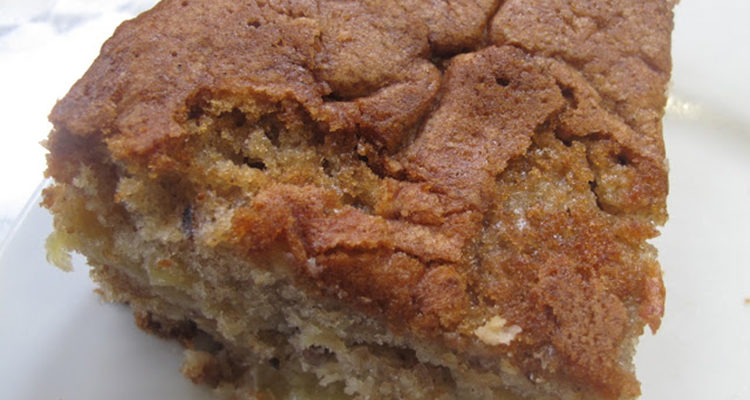 Pastis de poma, nous  i calvados (sense calvados)