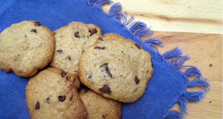 Cookies amb gotes de xocolata
