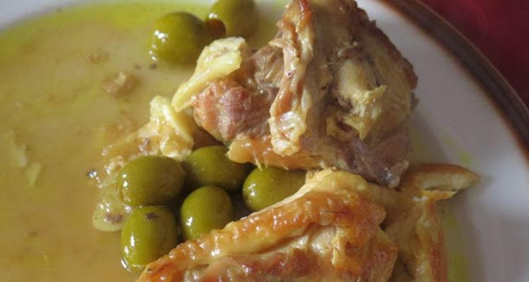 Tagine de pollastre amb olives