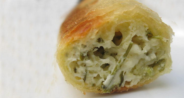 Börek amb formatge feta