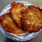 Creps de patata (Kartoffelpuffer)
