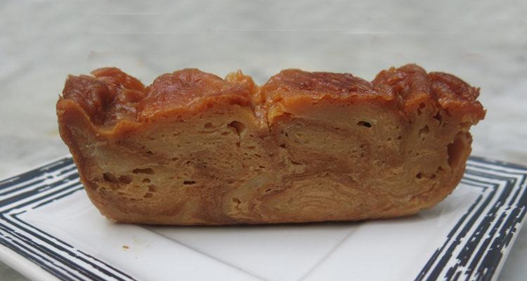 Pudding de croissants batejats