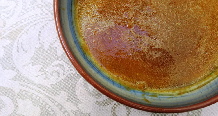 Crema de carbassa amb poma i gingebre