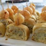 Rotllets de truita de patata