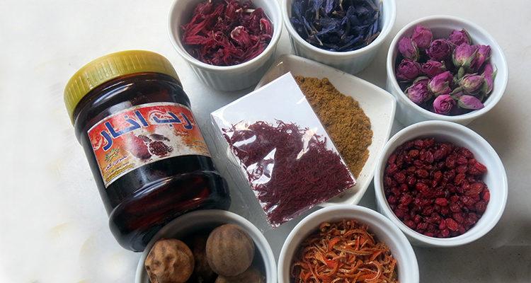 Ensopegades i condiments perses