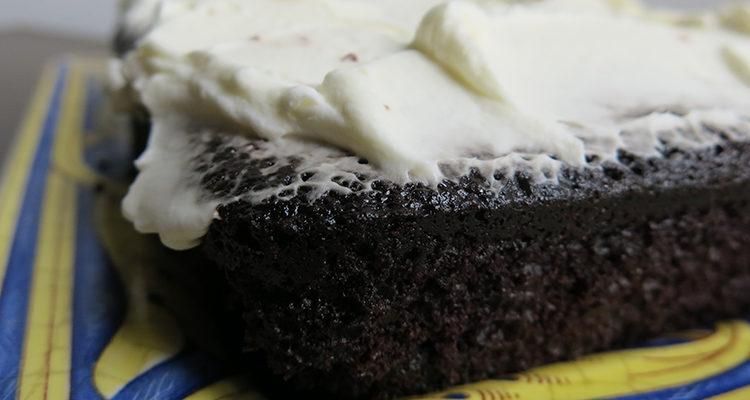 Pastis de xocolata i cervesa negra
